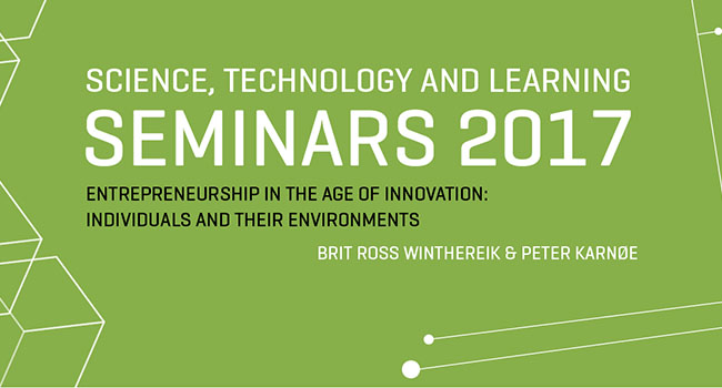 ENTREPRENEURSHIP IN THE AGE OF INNOVATION: INDIVIDUALS AND THEIR ENVIRONMENTS