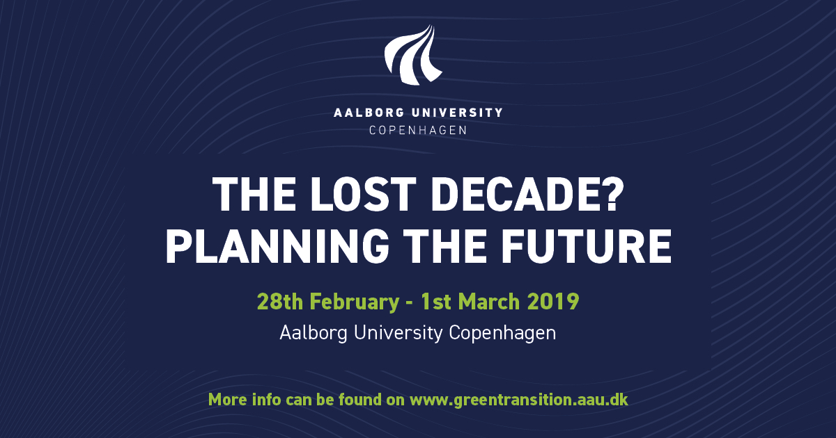 Climate Conference: The Lost Decade? Planning The Future